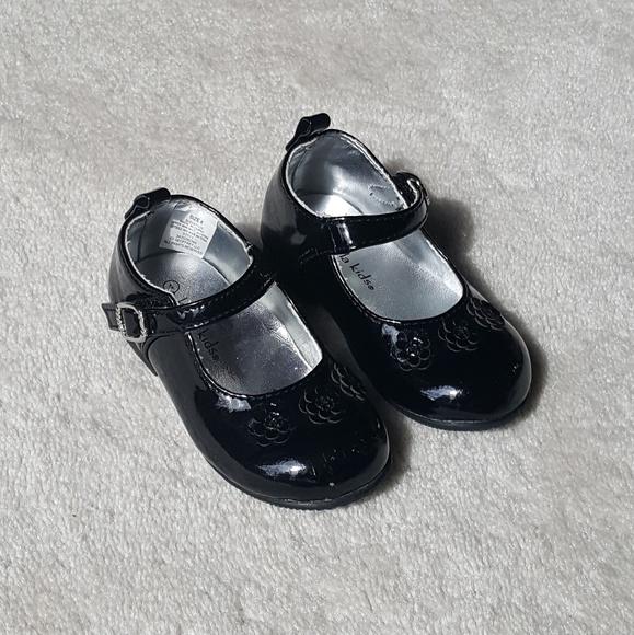 Koala Kids Shoes   Black Patent Leather